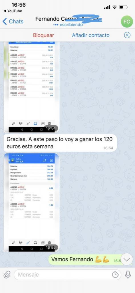 senales forex telegram